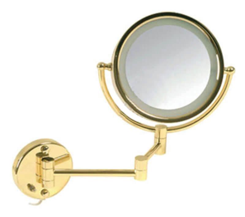E.MA3003 GOLD LEDLİ MAKYAJ AYNASI